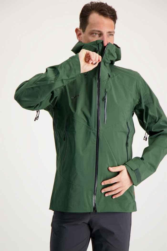Mammut Kento HS Herren Outdoorjacke Farbe Dunkelgrün 1