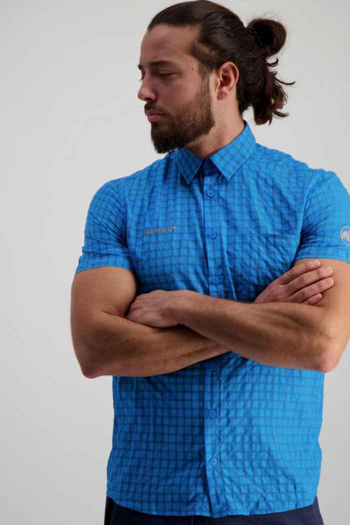 Mammut Lenni chemise de randonnée hommes Couleur Bleu clair 1