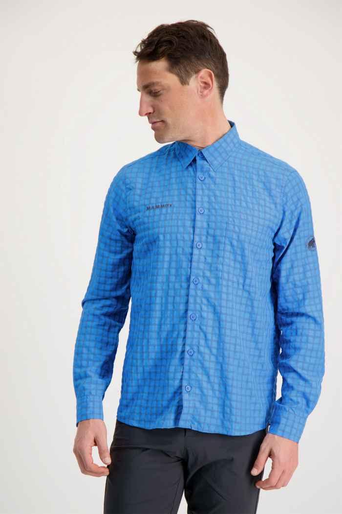 Mammut Lenni Herren Wanderhemd Farbe Hellblau 1