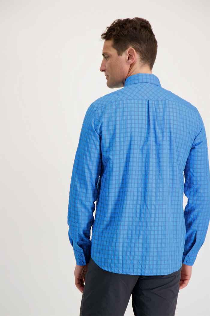 Mammut Lenni Herren Wanderhemd Farbe Hellblau 2