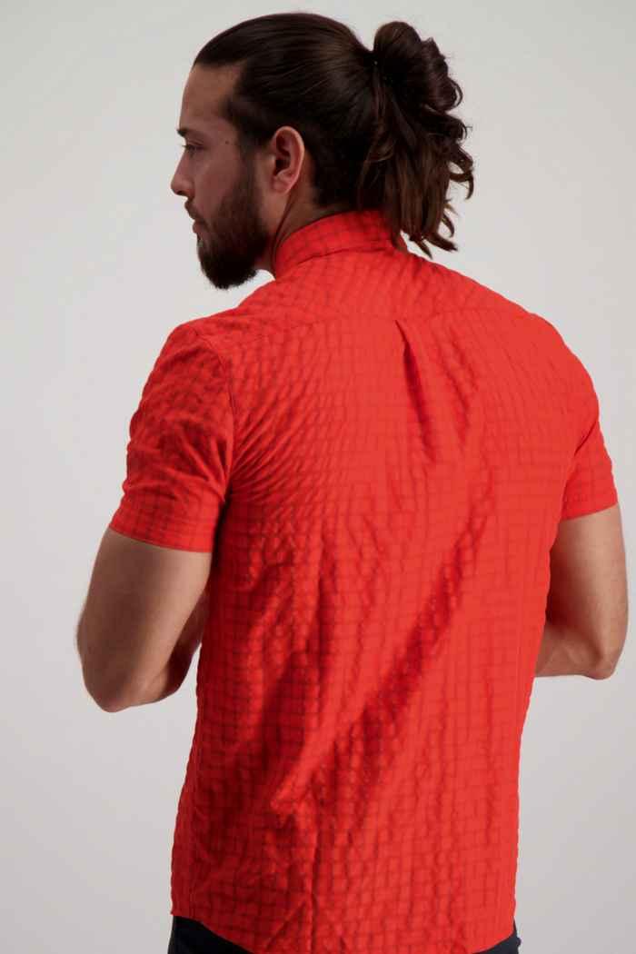 Mammut Lenni Herren Wanderhemd Farbe Rot 2