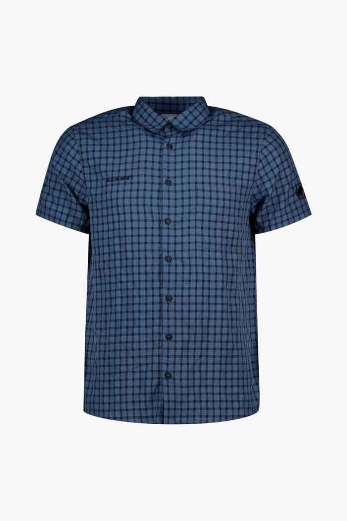 Mammut Lenni SE Herren Wanderhemd Farbe Blau 1