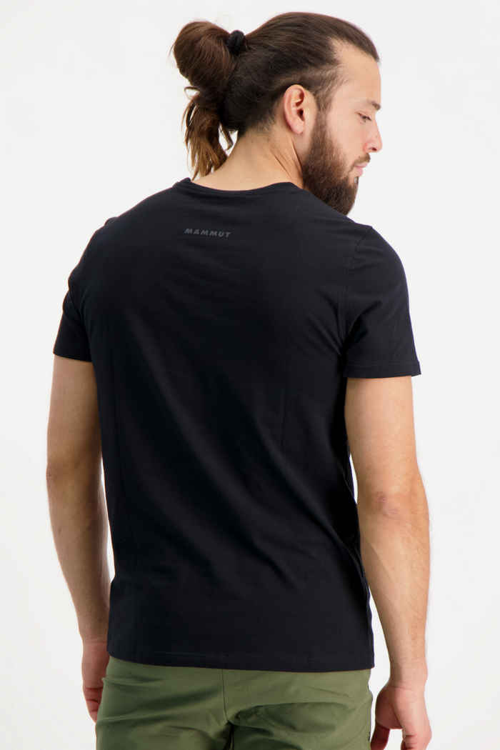 Mammut Logo Herren T-Shirt Farbe Schwarz 2
