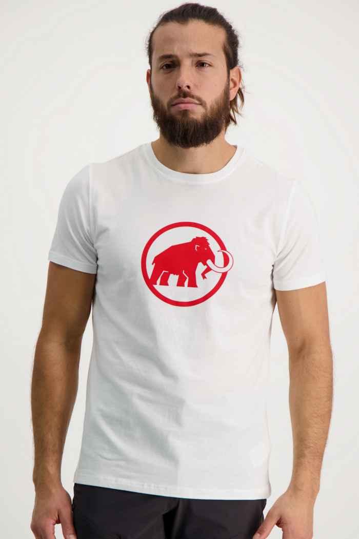 Mammut Logo Herren T-Shirt Farbe Weiß 1