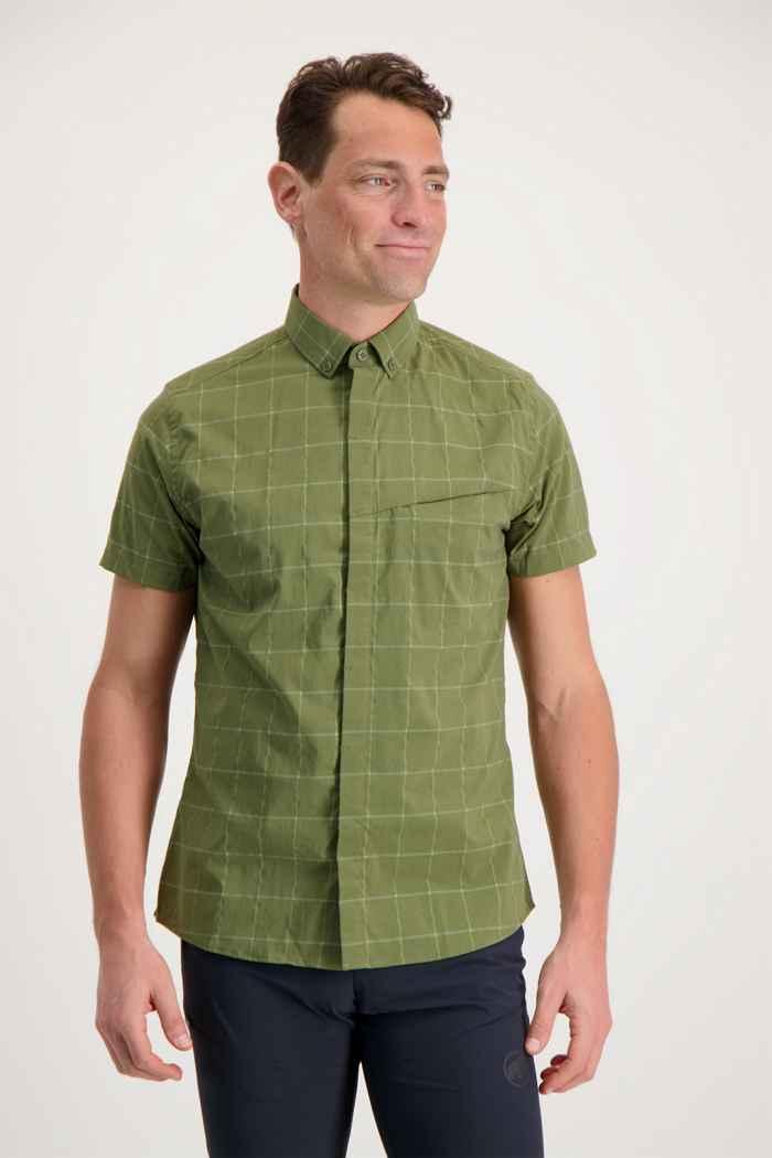 Mammut Mountain camicia da trekking uomo Colore Verde oliva 1