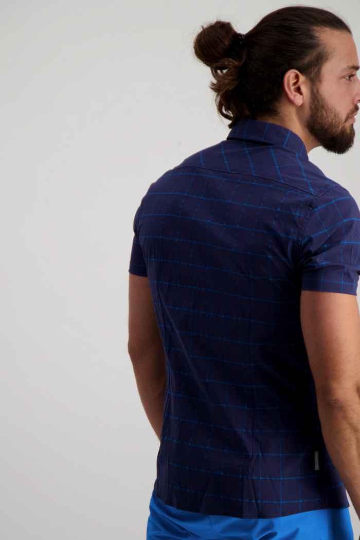 Mammut Mountain chemise de randonnée hommes Couleur Bleu 2