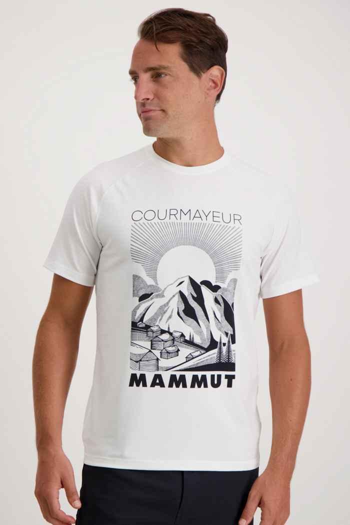 Mammut Mountain Herren T-Shirt Farbe Weiß 1