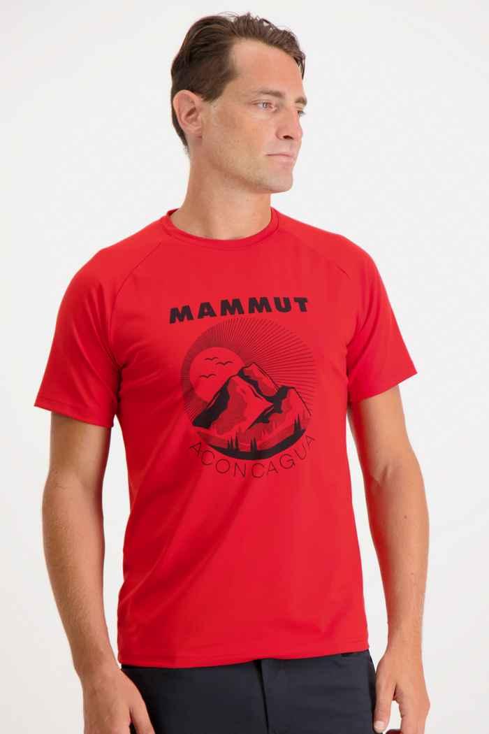 Mammut Mountain t-shirt hommes Couleur Rouge 1