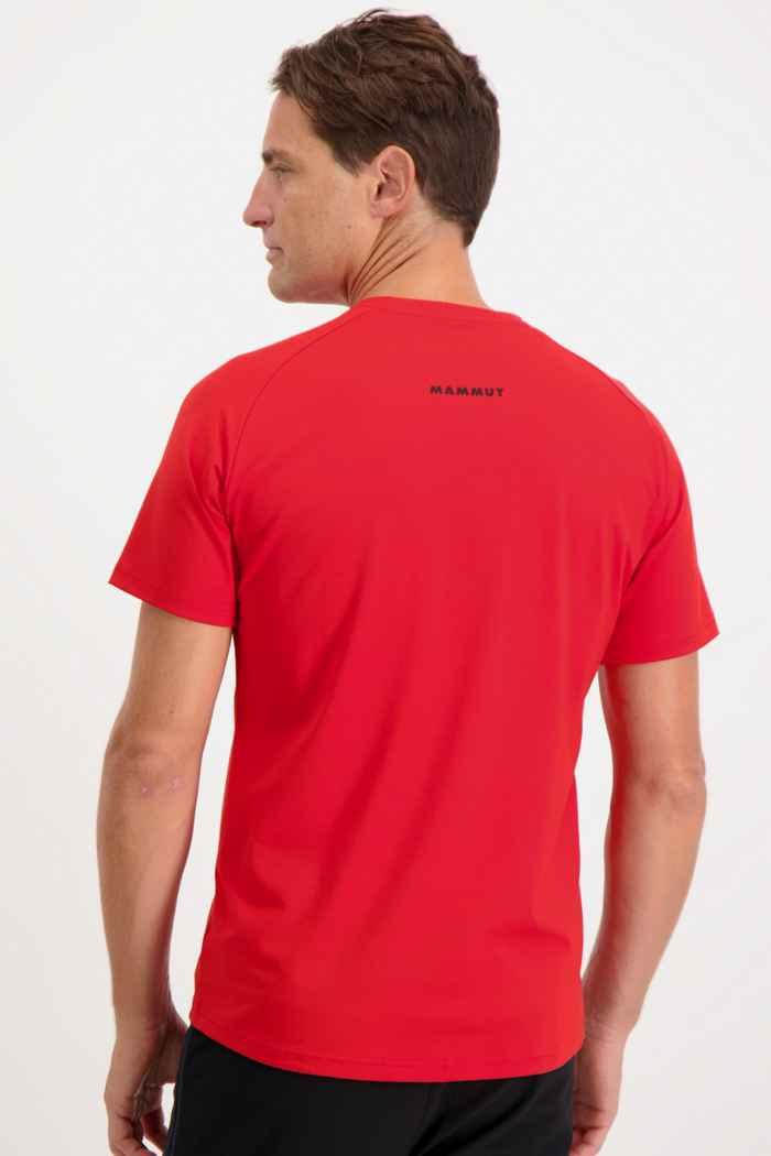 Mammut Mountain t-shirt hommes Couleur Rouge 2