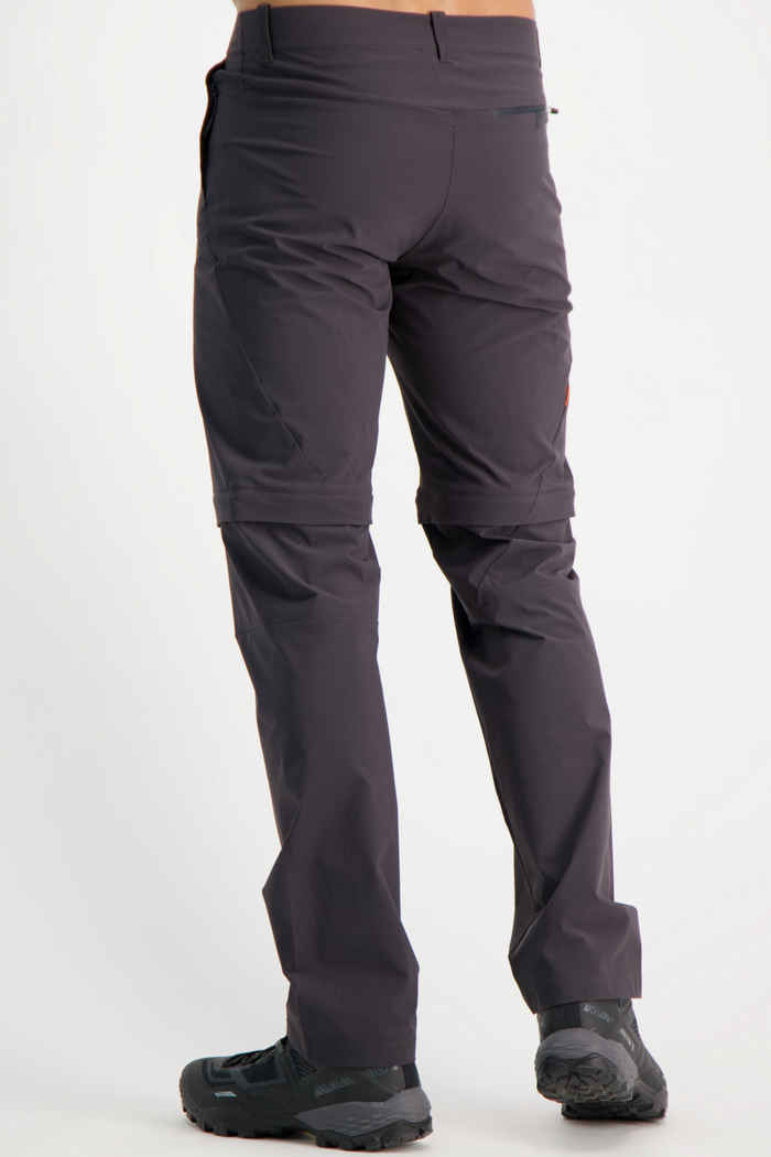 Mammut Runbold Zip-Off Herren Wanderhose Farbe Anthrazit 2