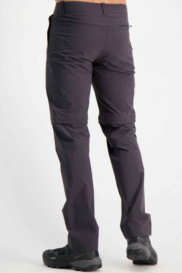 Mammut Runbold Zip-Off pantaloni da trekking uomo Colore Antracite 2