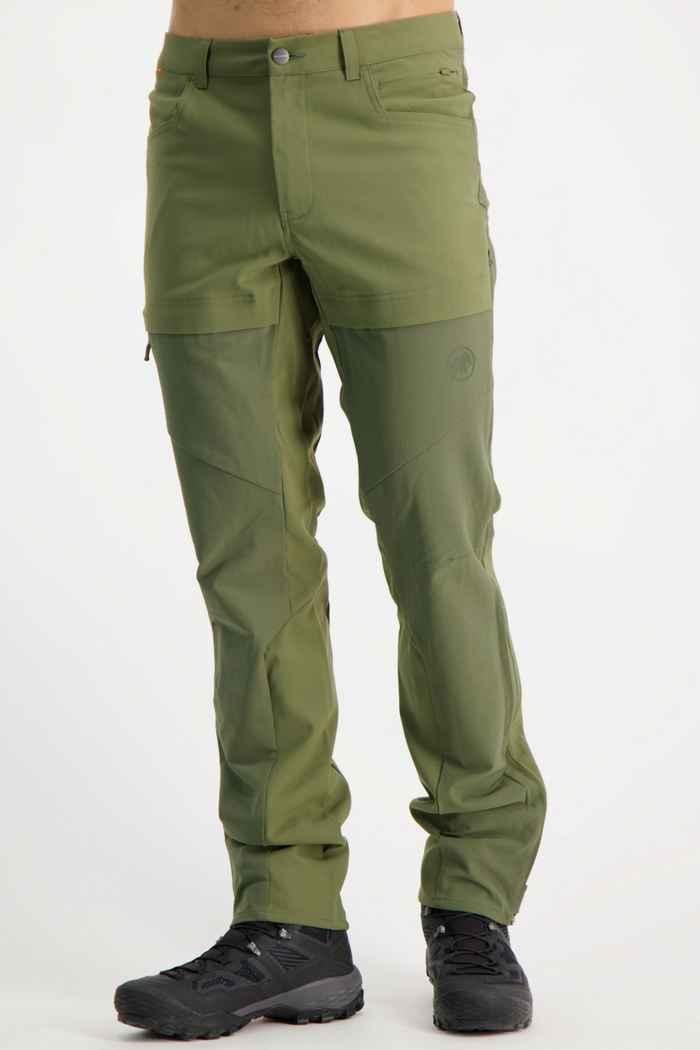 Mammut Zinal Guide Herren Wanderhose Farbe Olive 1