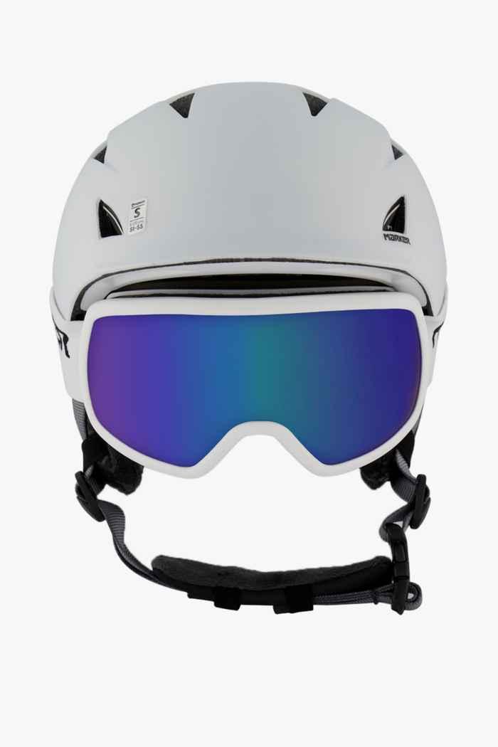 Marker Companion 16:9 Skihelm + Brille Farbe Weiß 2