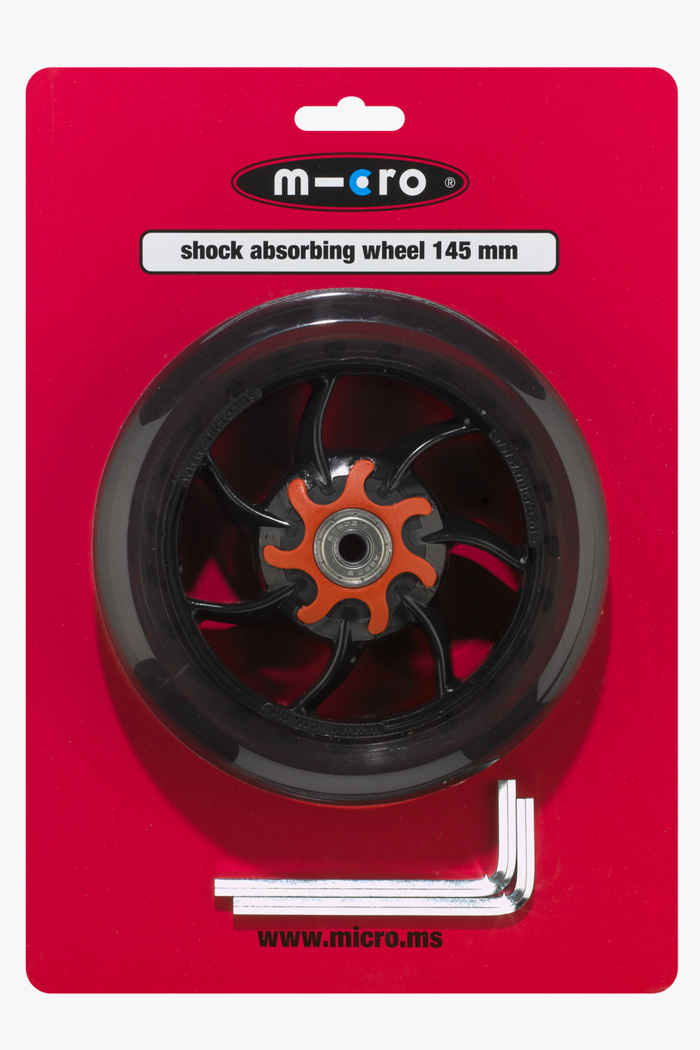 Micro 145 mm Shock absorbing roulettes de rollers 1