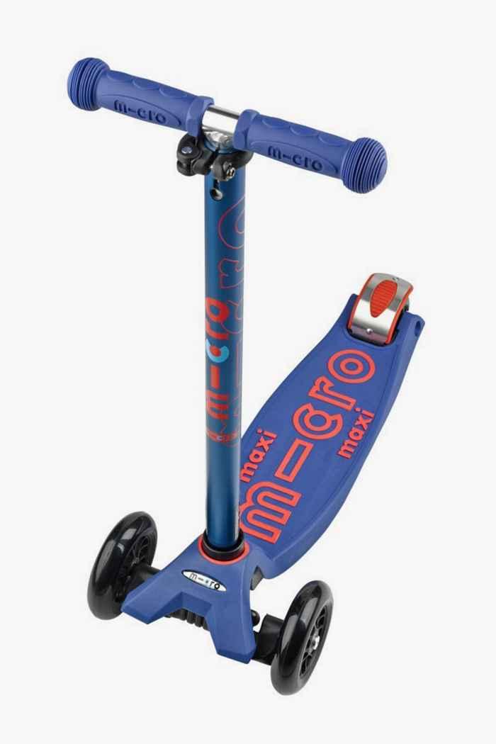Micro Maxi Deluxe trottinette enfants Couleur Bleu 1