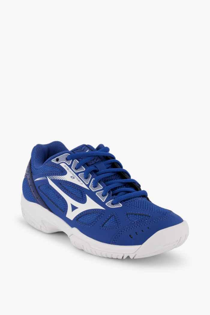 Mizuno Cyclone Speed 2 chaussures de salle enfants Couleur Bleu 1