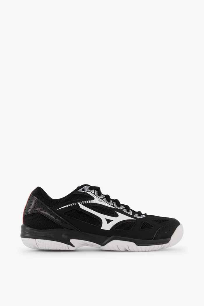 Mizuno Cyclone Speed 2 chaussures de salle enfants Couleur Noir-blanc 2