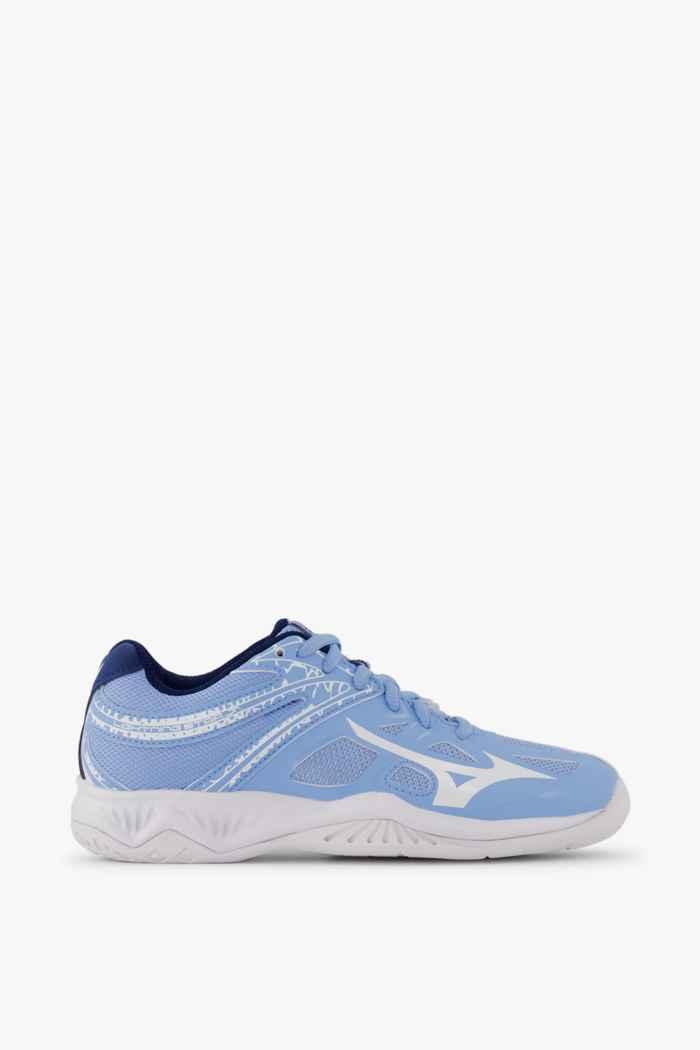 Mizuno Lightning Star Z5 chaussures de salle enfants Couleur Bleu clair 2
