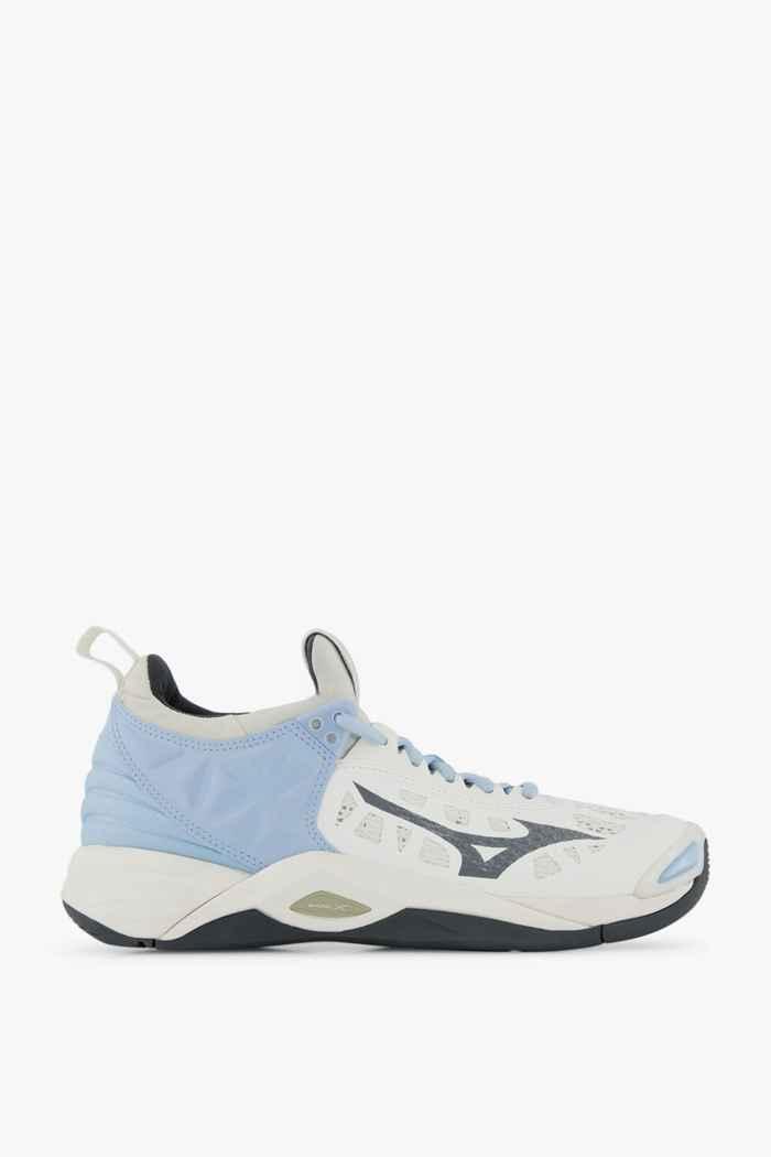 Mizuno Wave Momentum scarpe da palestra donna Colore Bianco 2
