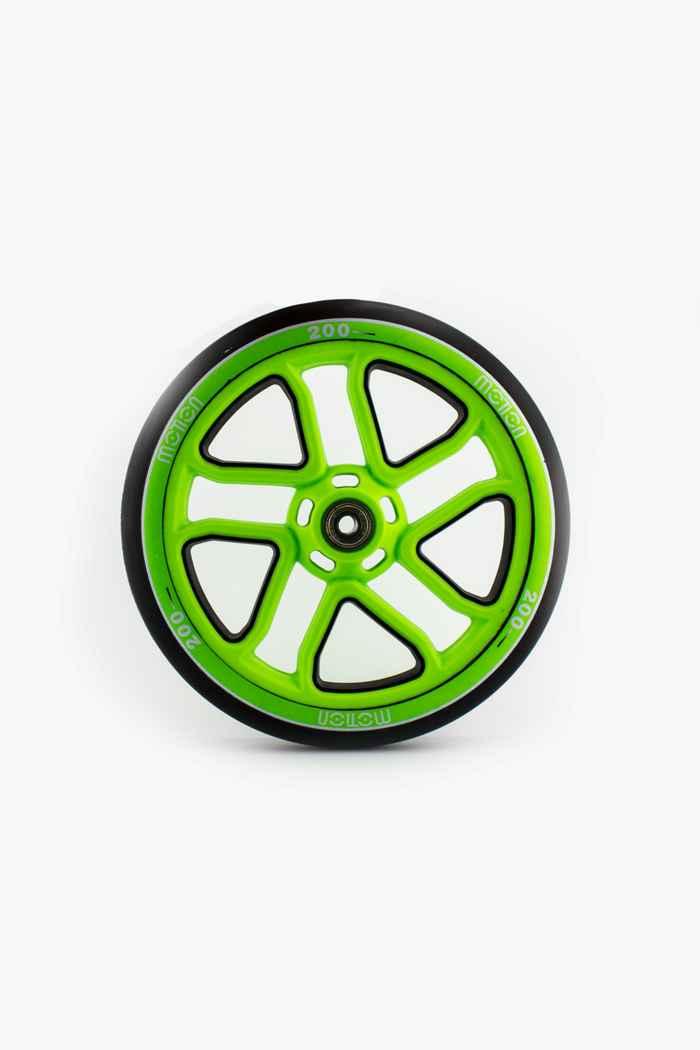 motion 200 mm roulettes de rollers Couleur Vert 1