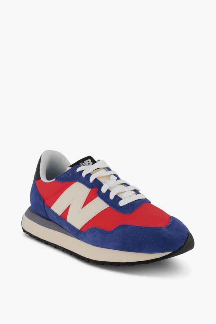New Balance 237 sneaker uomo Colore Blu-rosso 1