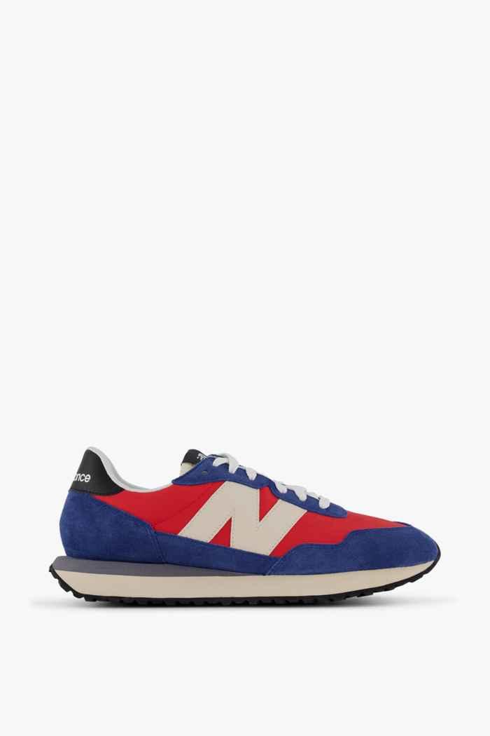 New Balance 237 sneaker uomo Colore Blu-rosso 2