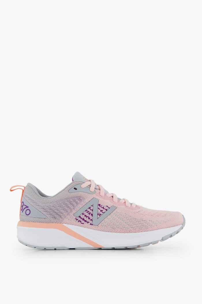 Compra 870 v5 scarpe da corsa donna New Balance in rosa ...