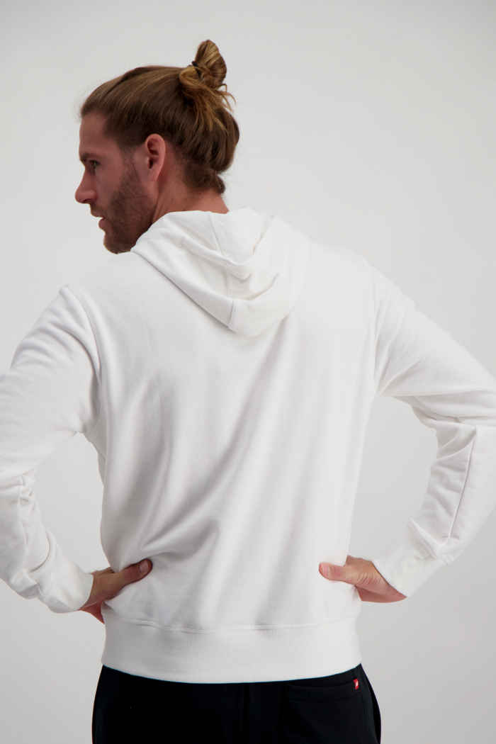 New Balance Essentials Stacked Logo hoodie hommes Couleur Blanc 2