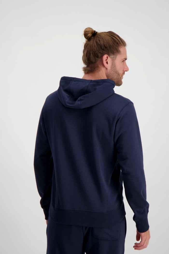 New Balance Essentials Stacked Logo hoodie uomo Colore Blu navy 2