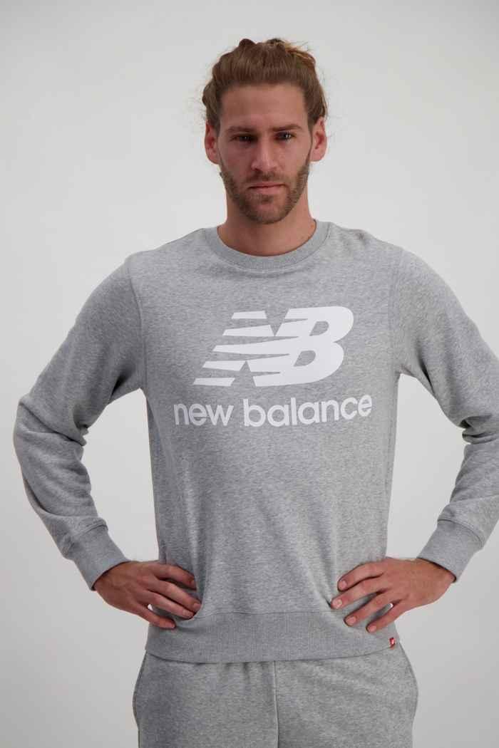 New Balance Essentials Stacked Logo maglioni uomo 1