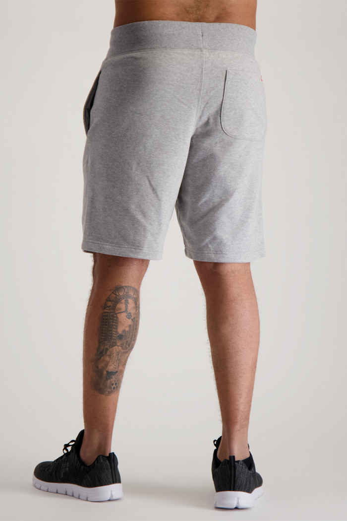 New Balance Essentials Stacked Logo short hommes Couleur Gris 2