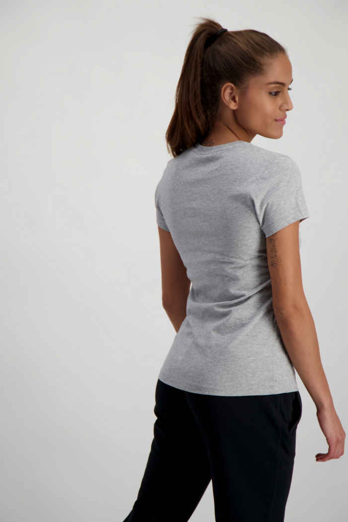 New Balance Essentials Stacked Logo t-shirt donna Colore Grigio 2