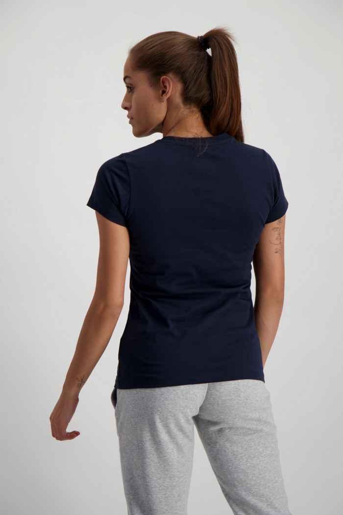 New Balance Essentials Stacked Logo t-shirt femmes Couleur Bleu navy 2