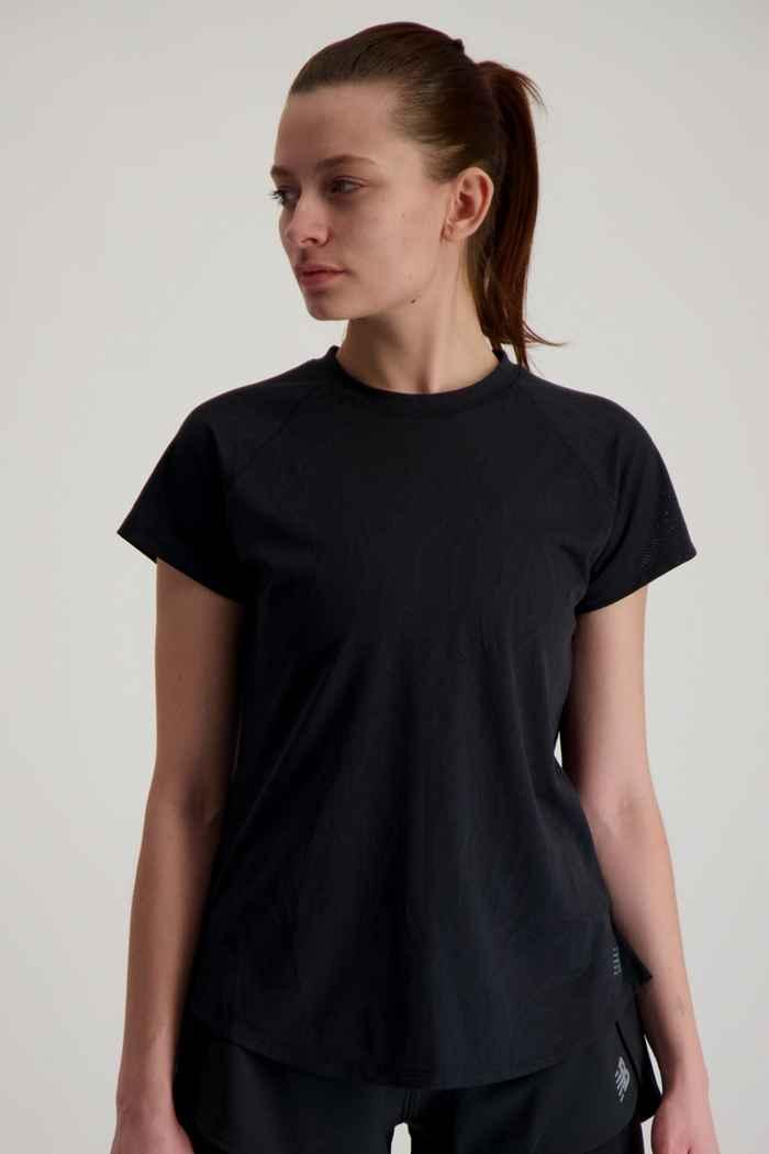 New Balance Q Speed Fuel t-shirt femmes Couleur Noir 1