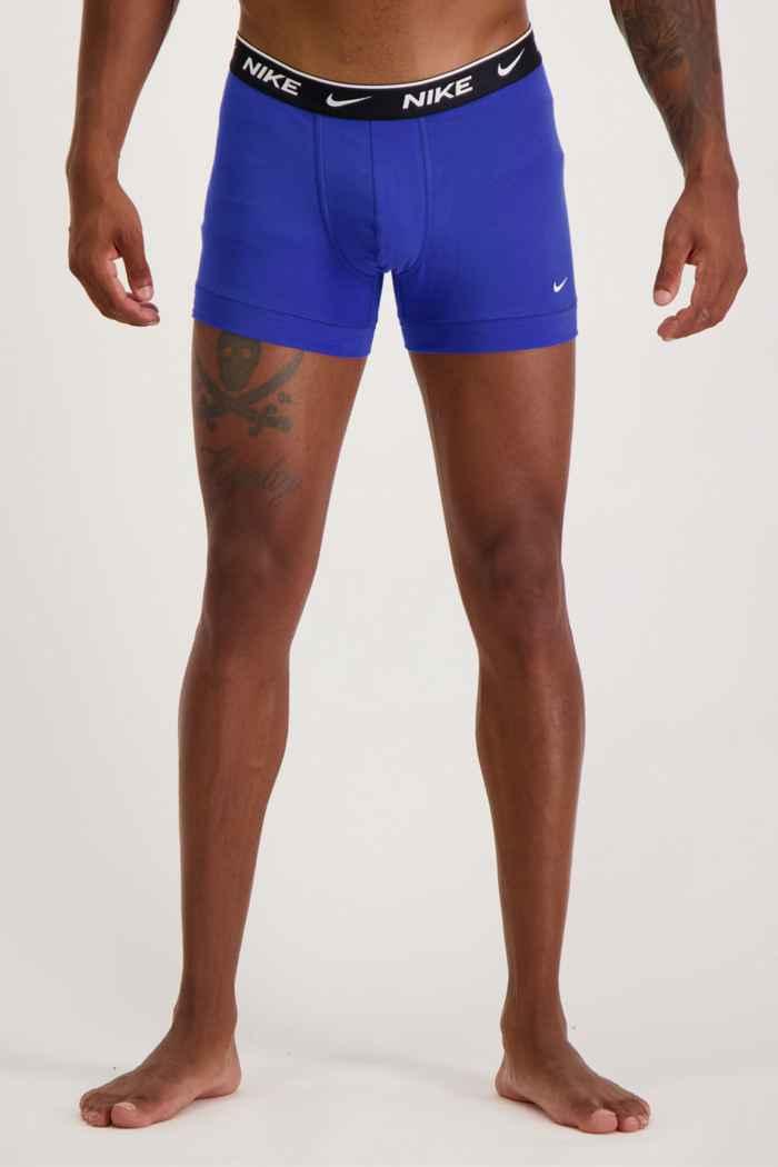 Nike 2-Pack E-Day Herren Boxershort Farbe Blau 2