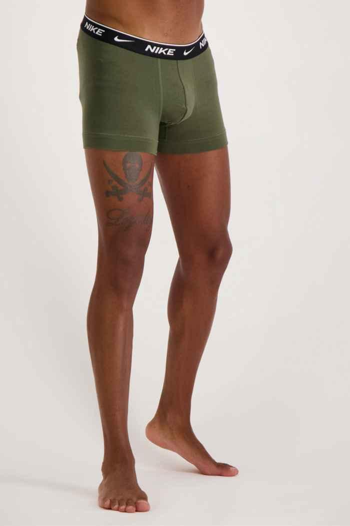 Nike 2-Pack E-Day Herren Boxershort Farbe Grün-schwarz 2