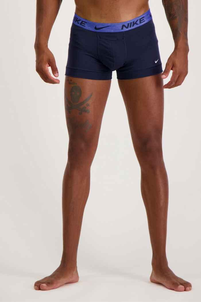 Nike 2-Pack Reluxe Herren Boxershort Farbe Blau 1
