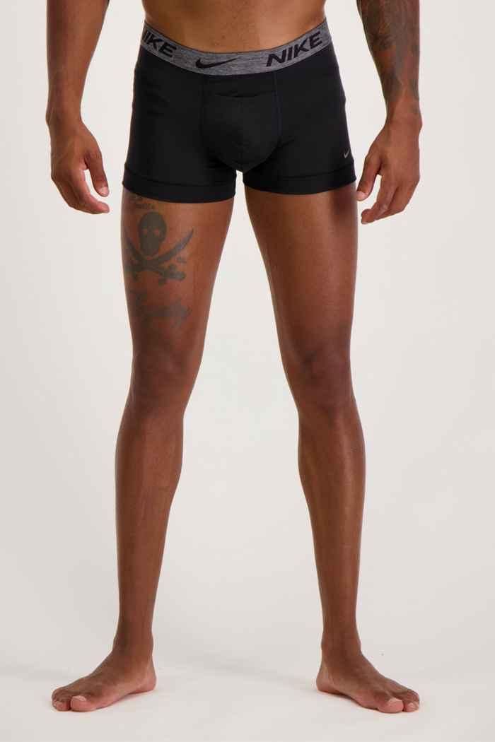 Nike 2-Pack Reluxe Herren Boxershort Farbe Schwarz 1