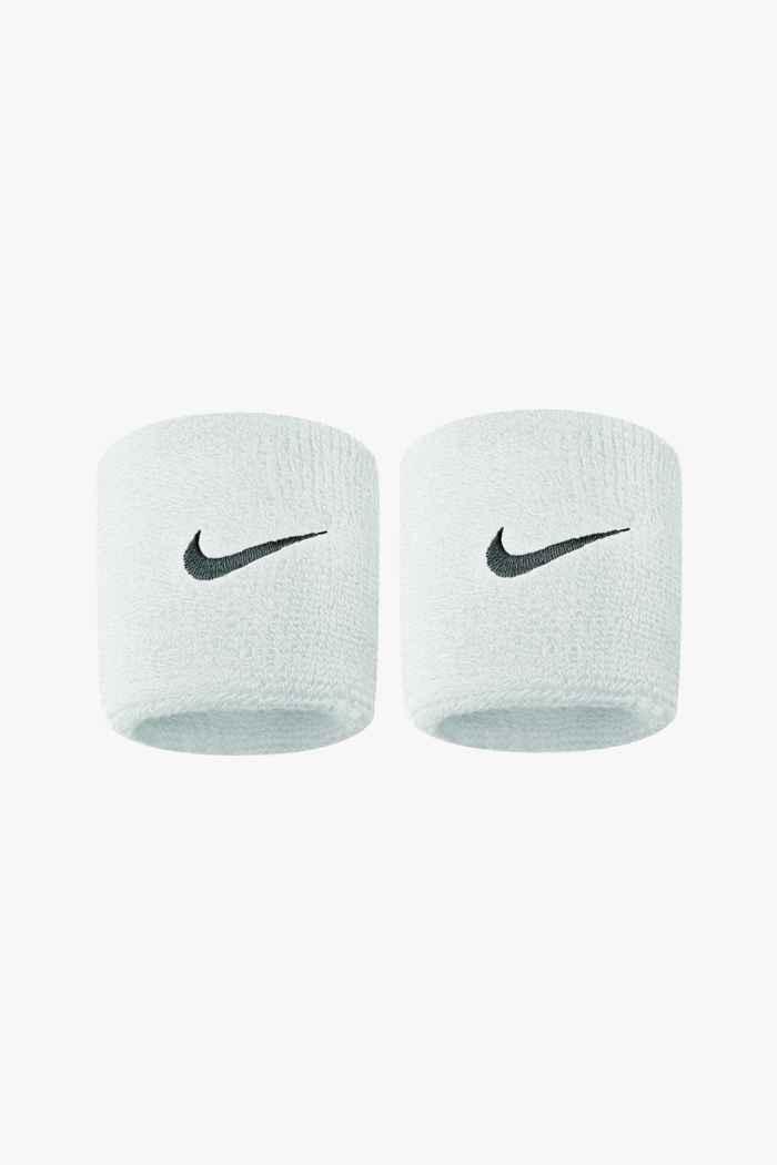 Nike 2-Pack Swoosh bracelets éponge Couleur Blanc 1