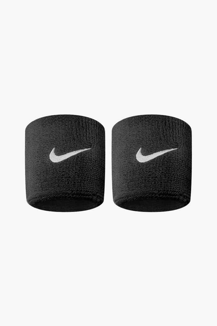 Nike 2-Pack Swoosh fasce antisudore Colore Nero 1