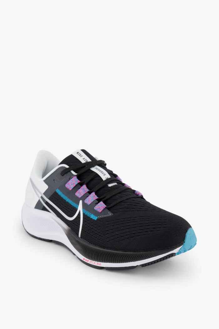 Nike Air Zoom Pegasus 38 chaussures de course hommes Couleur Noir-blanc 1