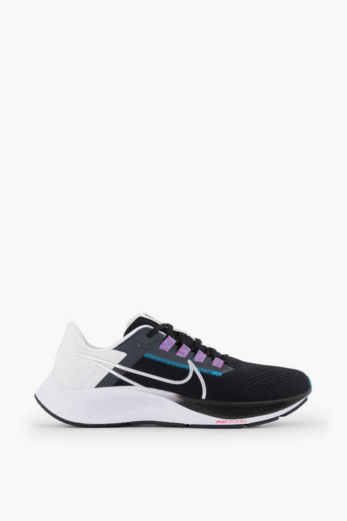 Nike Air Zoom Pegasus 38 chaussures de course hommes Couleur Noir-blanc 2