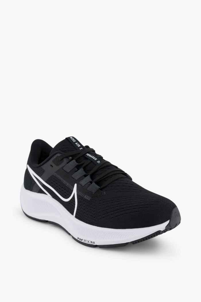 Nike Air Zoom Pegasus 38 Damen Laufschuh Farbe Schwarz-weiß 1