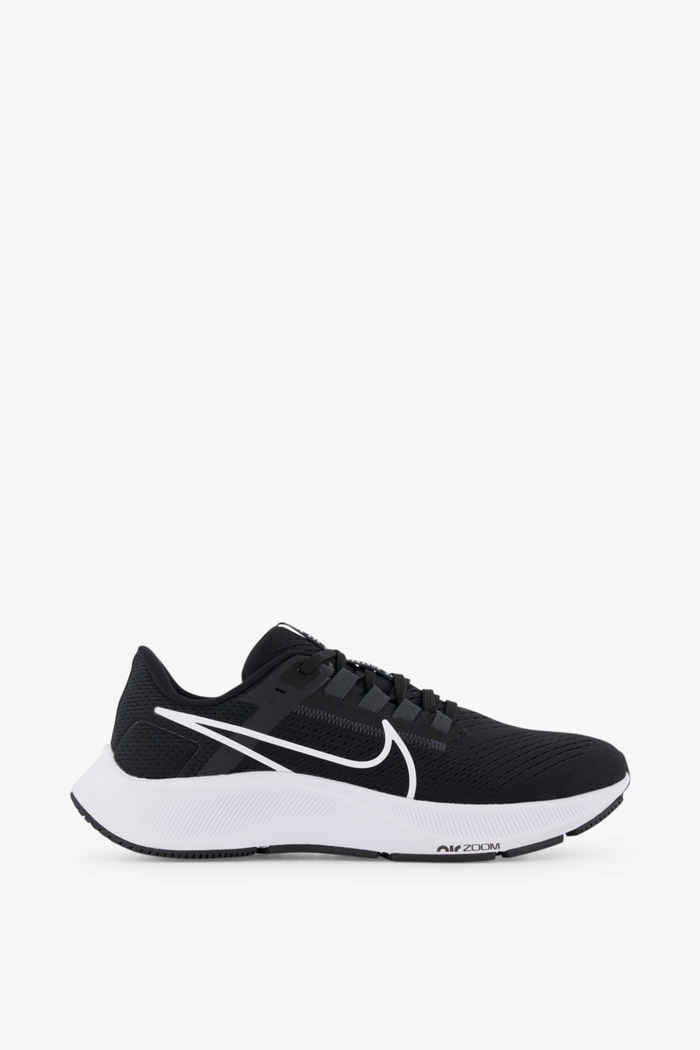 Nike Air Zoom Pegasus 38 Damen Laufschuh Farbe Schwarz-weiß 2