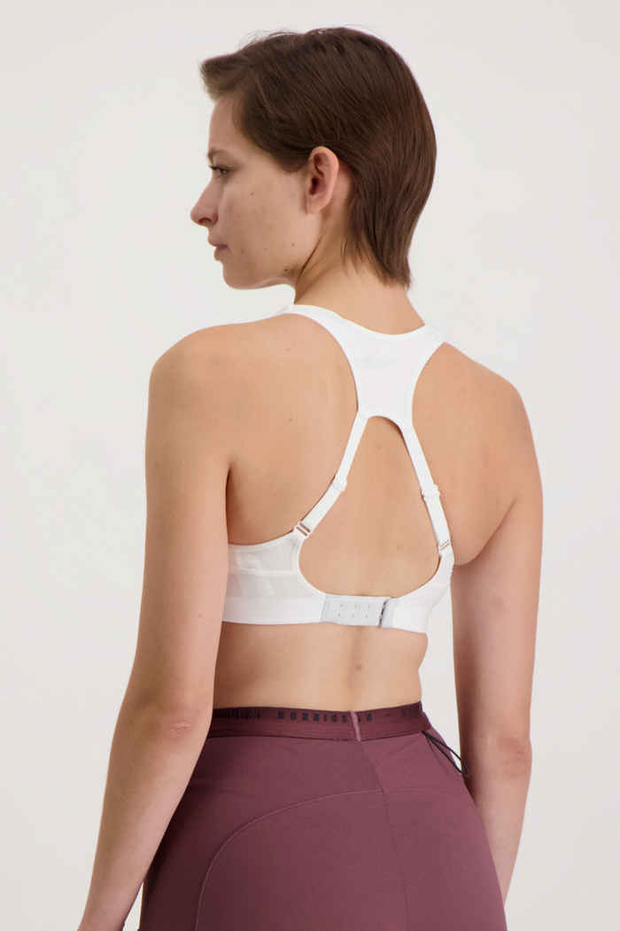 Nike Alpha Damen Sport-BH Farbe Weiß 2
