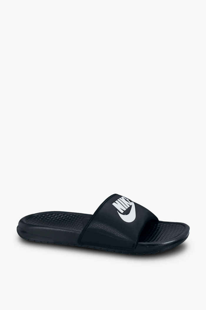 Nike Benassi Just Do It slipper Colore Nero 1