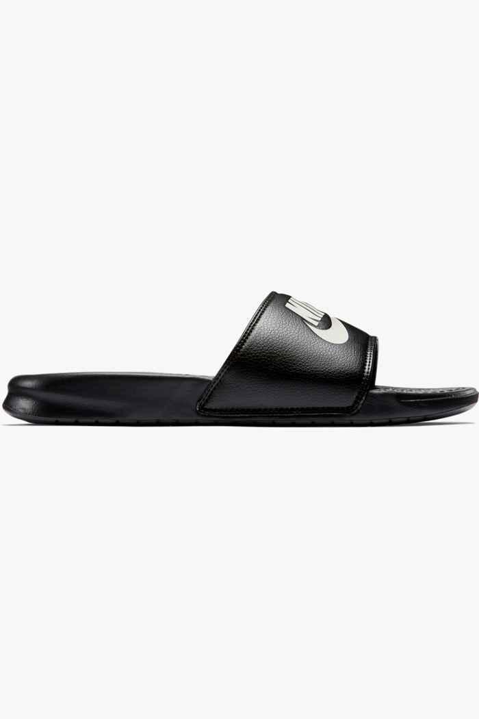 Nike Benassi Just Do It slipper Colore Nero 2