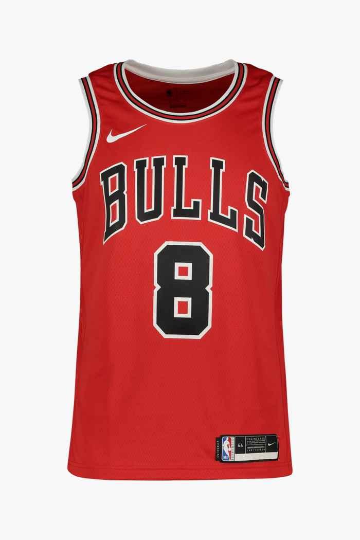 Nike Chicago Bulls Zach LaVine maillot de basket hommes Couleur Rouge 1