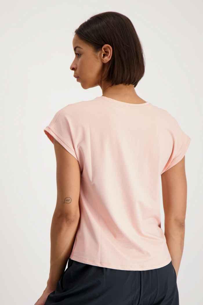 Nike Court Dri-FIT Victory Damen Tennisshirt Farbe Coral 2