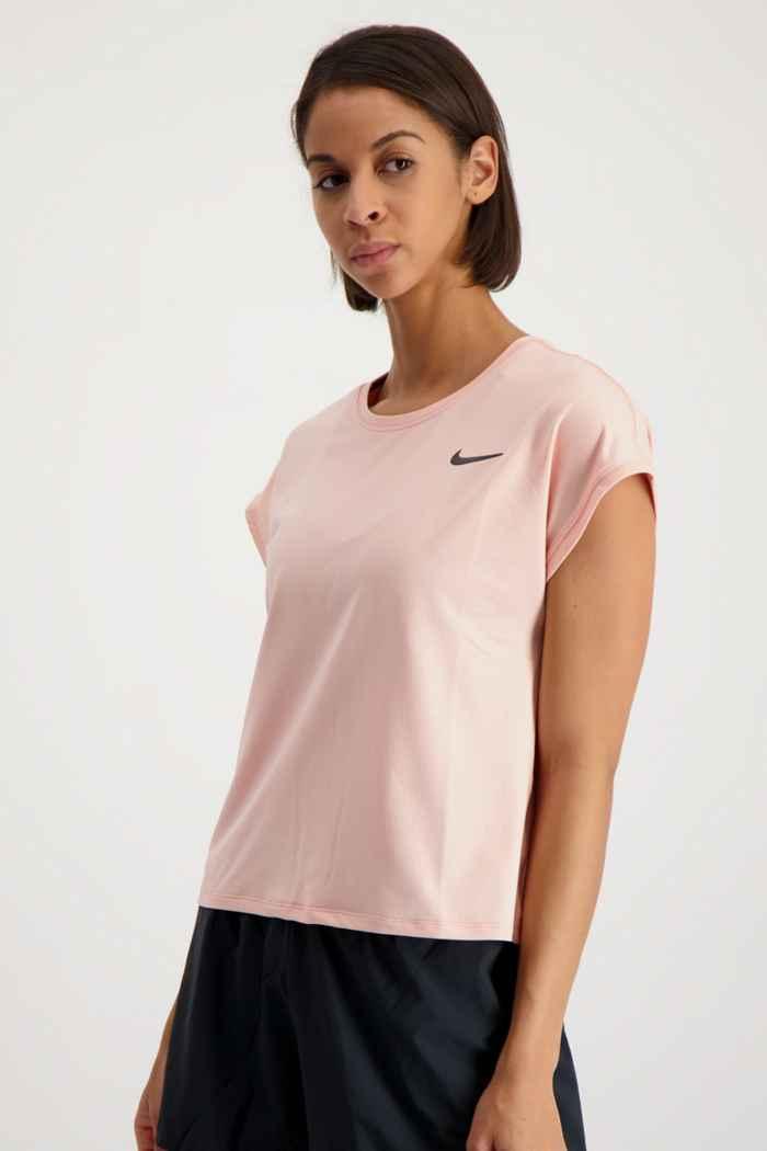 Nike Court Dri-FIT Victory débardeur de tennis femmes Couleur Coral 1